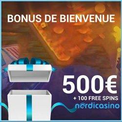 bonus bienvenue nordi casino